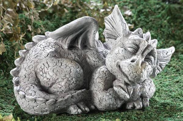 Dragon Garden Statues Golly Gee Gardening