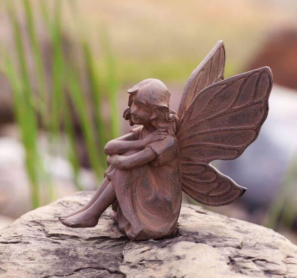 Fairy statues for garden garden statues ebay fairy garden statue ebay - Fairy statues for sale ...