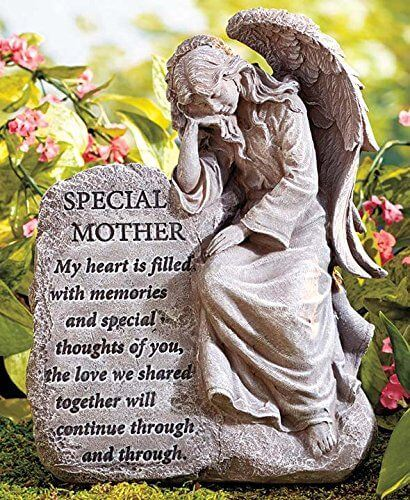 Special Mother Memorial Angel Garden Statue