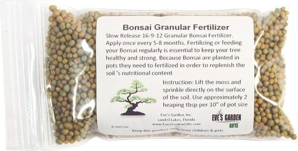 Slow Release Granular Bonsai Fertilizer Pellets