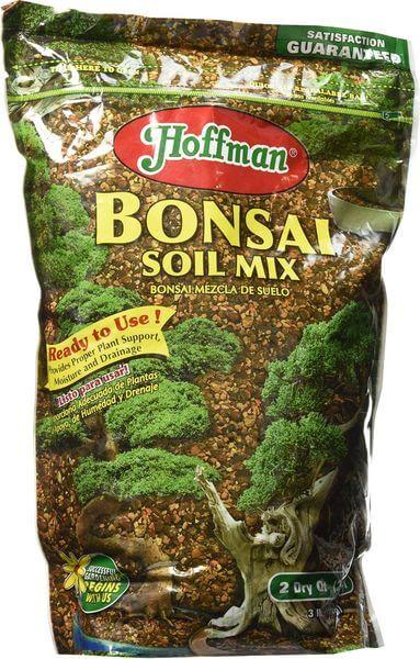 Hoffman Bonsai Soil Mix, 2 Quarts