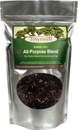 Bonsai Tree Soil All Purpose Blend - 2 Quarts