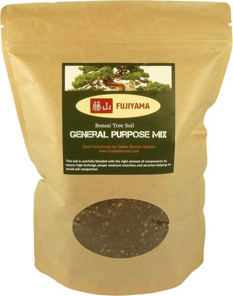 Fujiyama All Purpose Bonsai Soil Mix, 5 Quarts