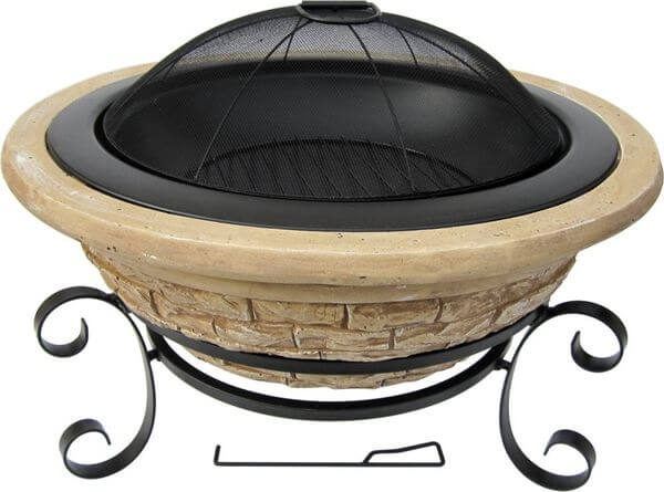 Micro World Magnesia Old Frontier Fire Pit