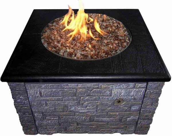 Stacked Stone Firepit Kit