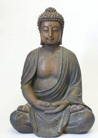 Alpine Buddha Garden Statue