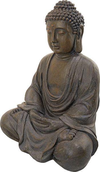 Design Toscano Meditative Buddha of the Grand Temple Garden Statue