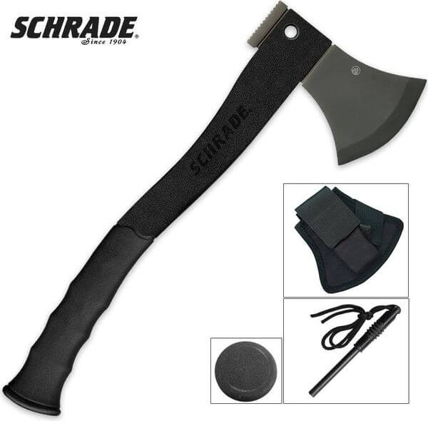 Schrade Survival 15.7-Inch Hatchet