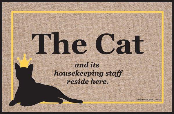 High Cotton Cat Doormat