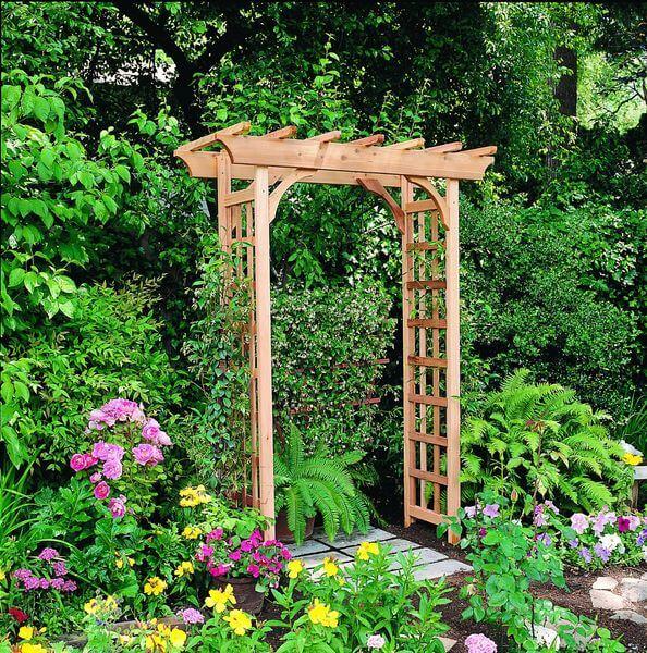 Arboria Rosedale Cedar Arbor