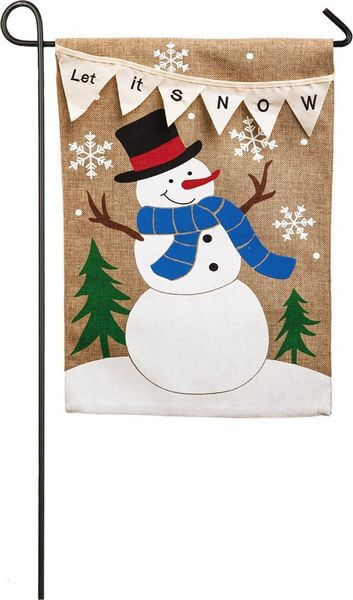 'Let it Snow' Garden Flag