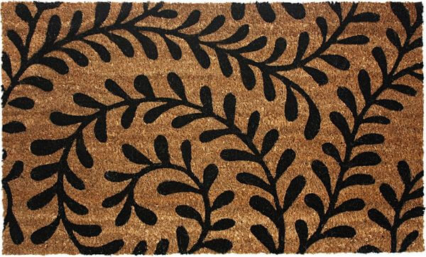 J U0026 M Home Fashions Vinyl Back Coco Doormat