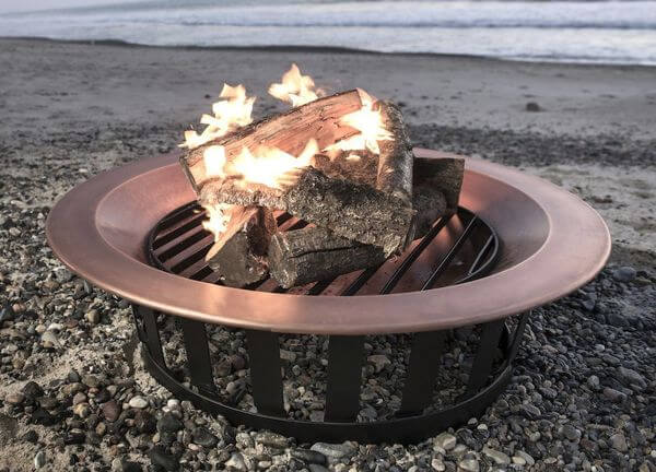 40 Solid 100% Copper Fire Pit