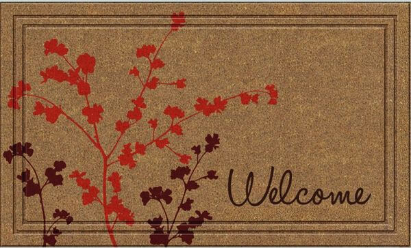 Apache Mills Naturelles Simple Welcome Door Mat