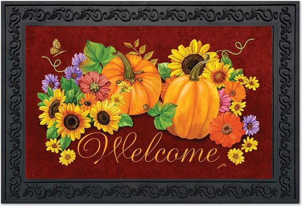 Fall Glory Floral Doormat