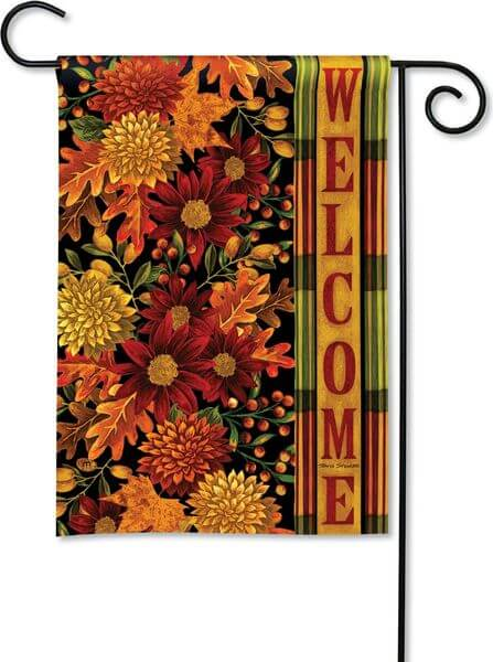 Magnet Works Fall Garden Flag