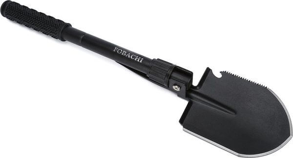 Military Folding Shovel and Pick with Carrying Pouch