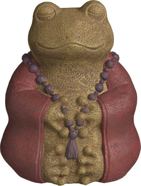 Grasslands Road Buddha Frog Garden Statue