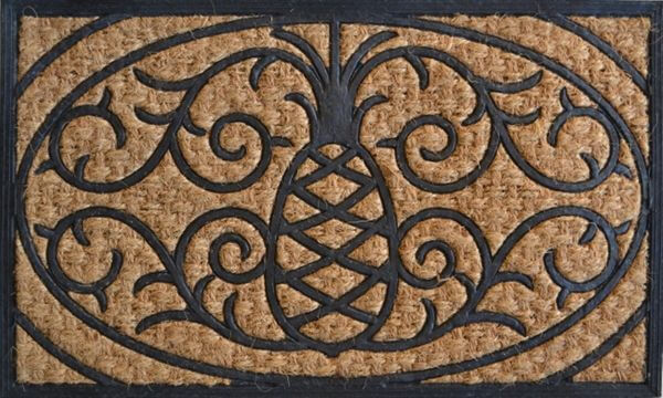 Pineapple Doormats Golly Gee Gardening