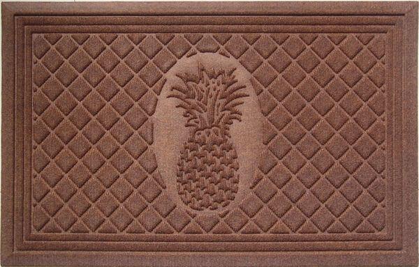 Entryways Pineapple Weather Beater Polypropylene Mat