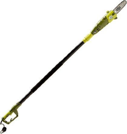 Sun Joe 8-Inch 6.5-Amp Telescoping Electric Pole Chain Saw
