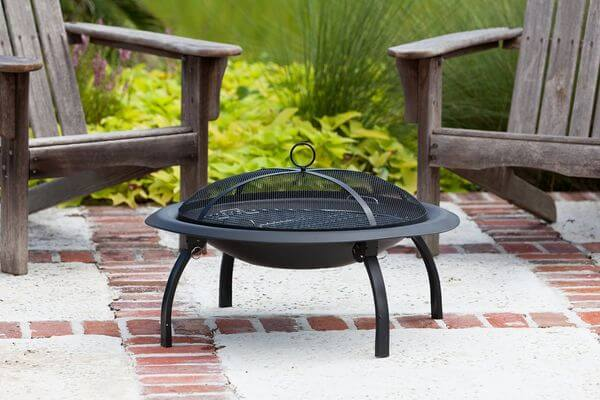 Fire Sense 29-Inch Folding Fire Pit