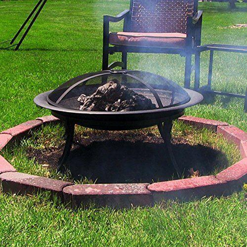 Sunnydaze Portable Folding Fire Pit