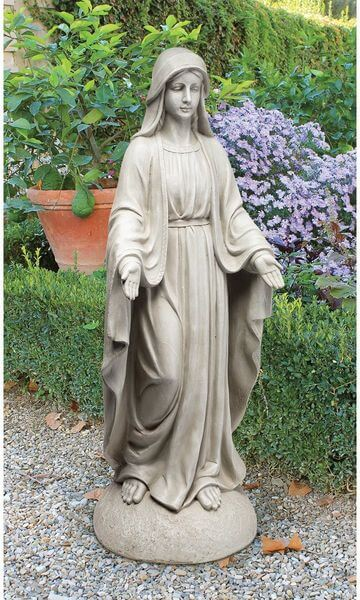 Design Toscano Madonna of Notre Dame Garden Statue