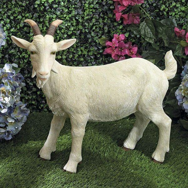 Goat Resin Garden Statue