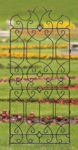 H Potter Wrought Iron Ornamental Trellis