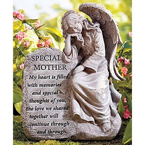 Special Mother Memorial Angel Garden Statue