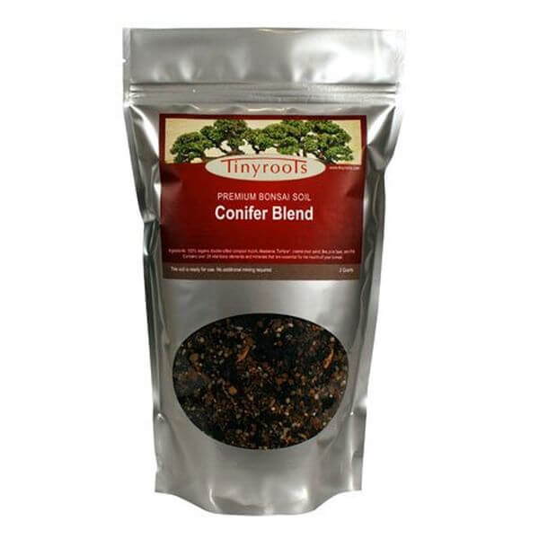 Conifer Bonsai Tree Topsoil Blend - 2 Quarts