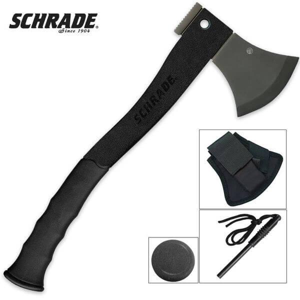 Schrade Survival 15.7-Inch Hatchet