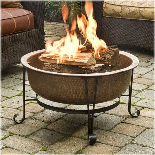 CobraCo Vintage Copper Fire Pit