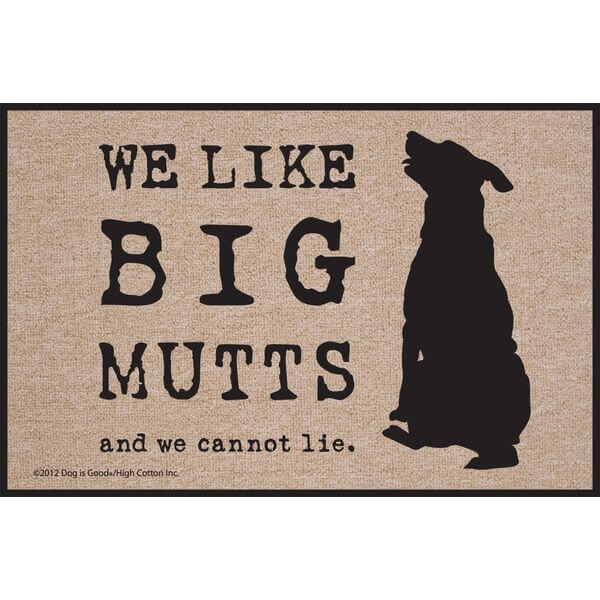 High Cotton Big Mutts Doormat