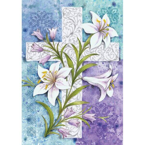 Toland 'Easter Lilies' Garden Flag