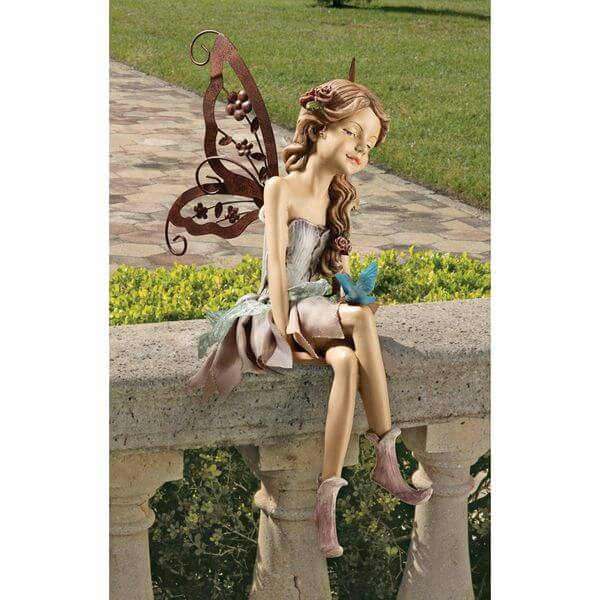 Design Toscano Fannie, the Fairy Garden Statue