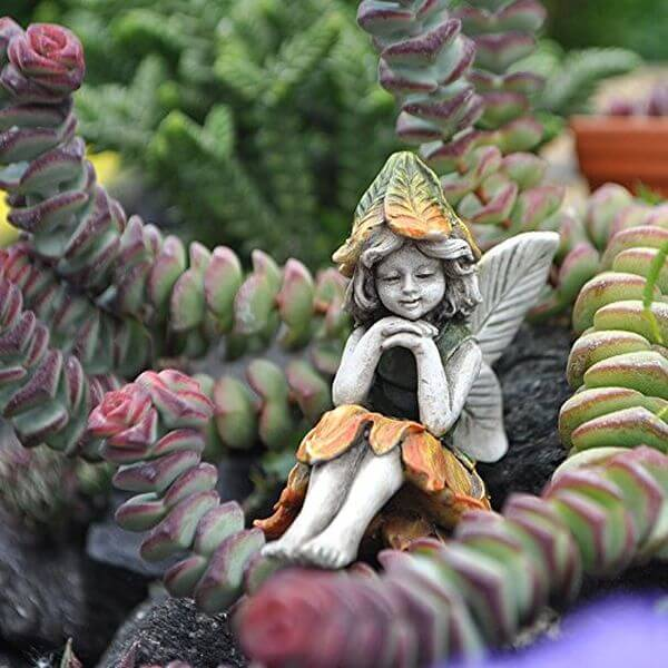 Miniature Garden Fairy Statue