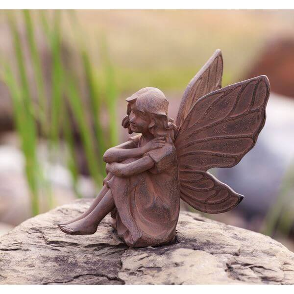Earth Fairy Aura Garden Statue