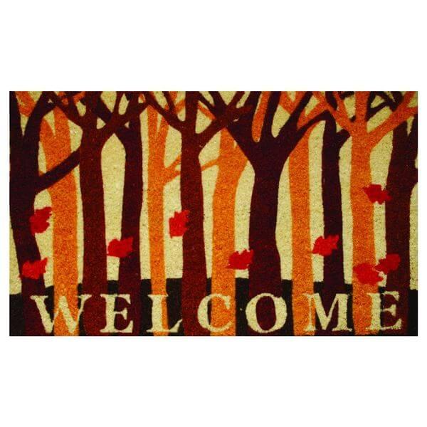 Robert Allen Home & Garden Coir Fall Doormat