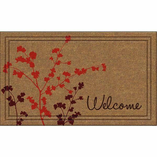 Apache Mills Naturelles Simple Welcome Door Mat