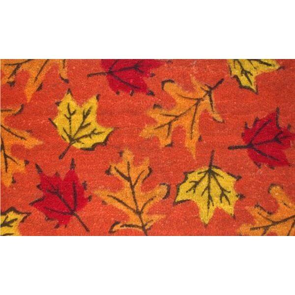 Home & More Fall Leaves Doormat