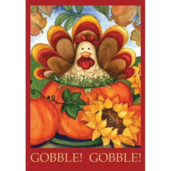 Toland 'Autumn Turkey' Fall Garden Flag