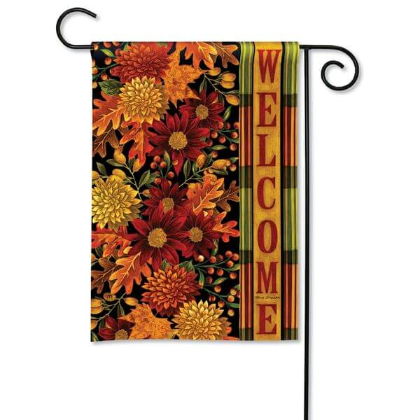 Magnet Works Fall Garden Flag