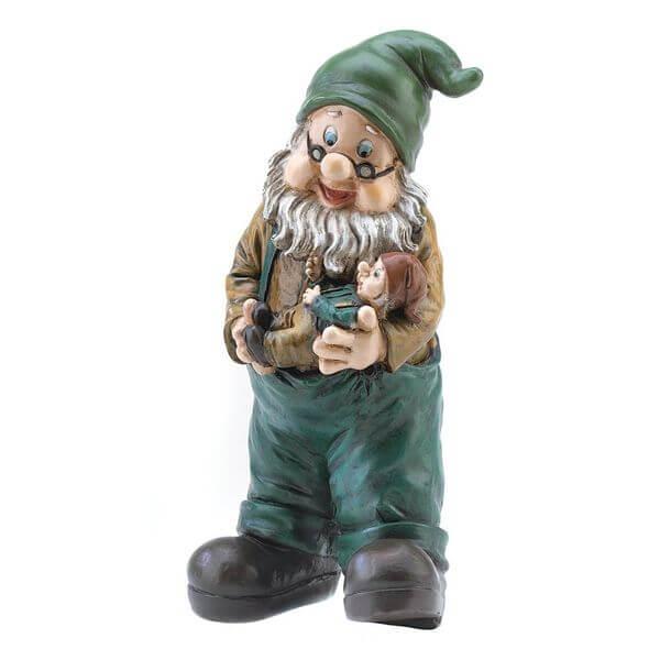 Gifts & Decor Garden Grandpa Yard Gnome Outdoor Statue