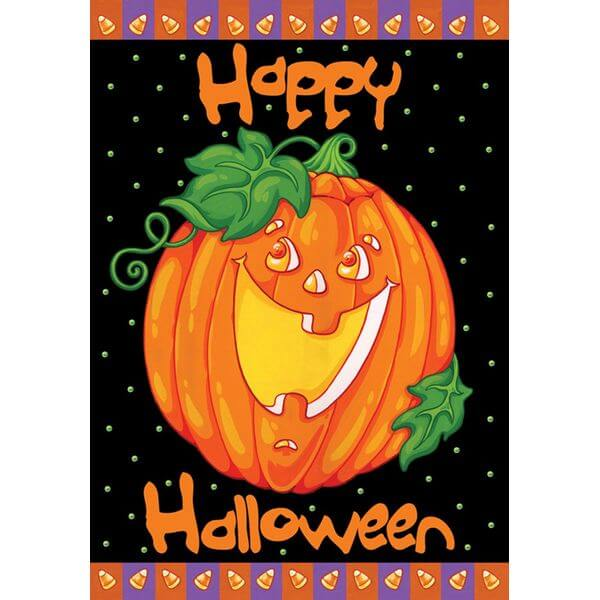 Toland 'Happy Halloween' Garden Flag