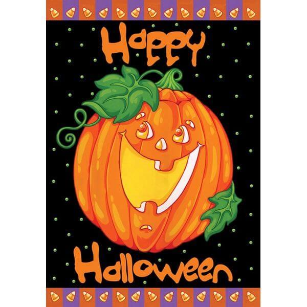 Toland 'Happy Halloween' Garden Flag