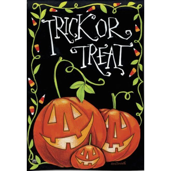 BreezeArt Halloween Treat Garden Flag