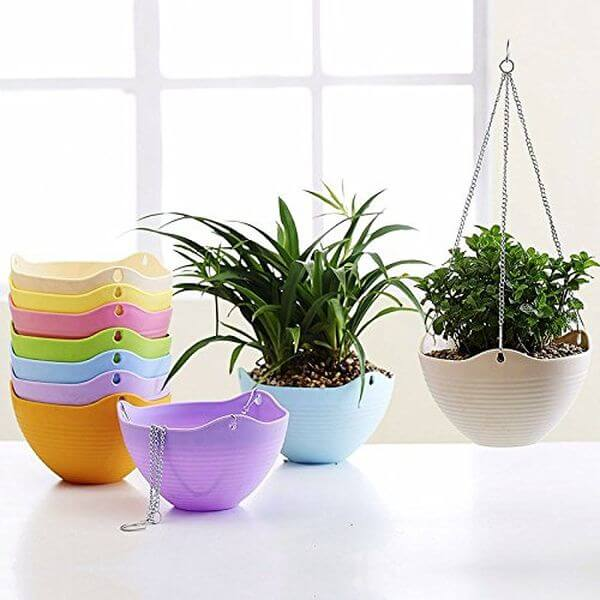 Mkono Hanging Flower Pot