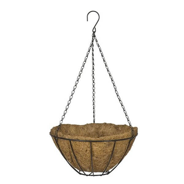 CobraCo Black Growers Hanging Basket